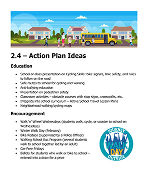 School Travel Planning Action Plan thumbnail