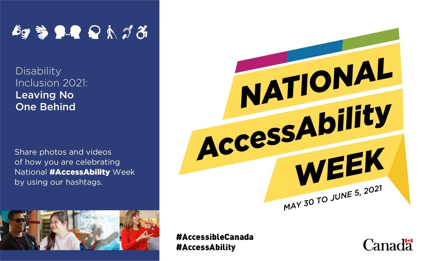National AccessAbility Week banner
