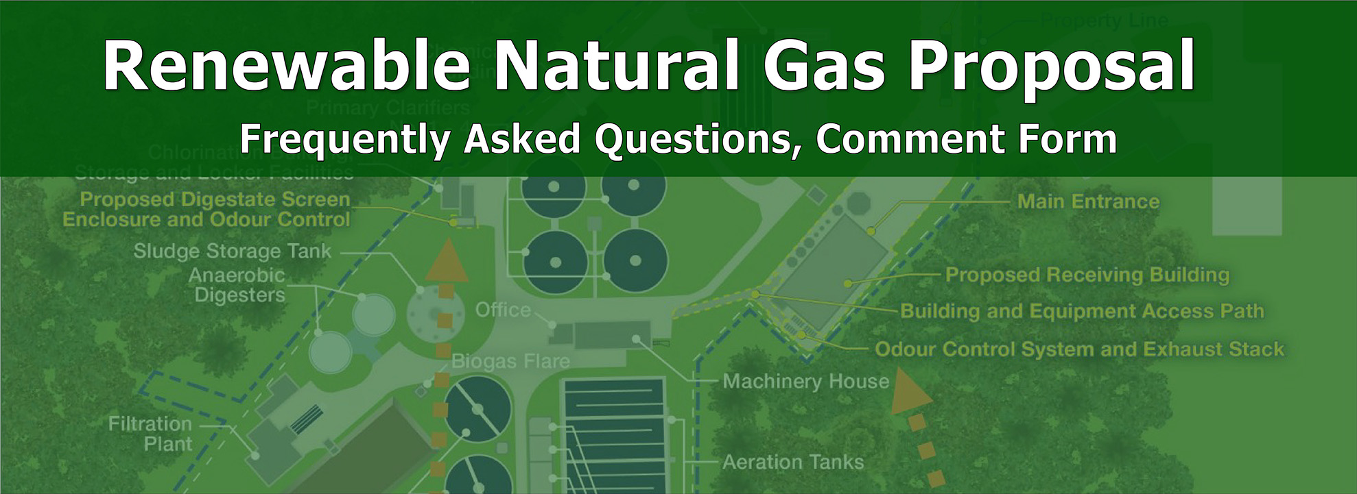 Renewable Natural Gas proposal banner