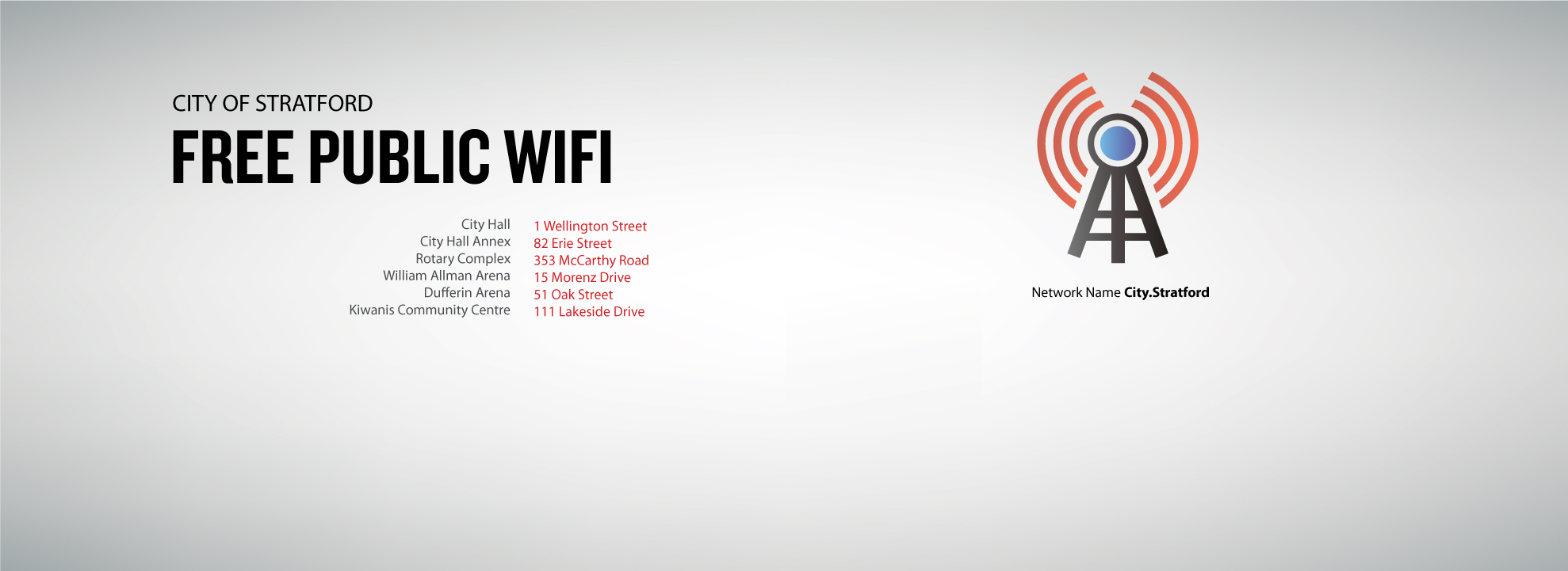 City of Stratford Free Public WiFi